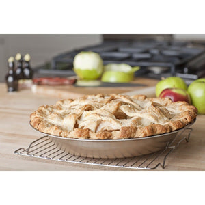 Stainless Steel Pie Pan - 360 Bakeware 360 Cookware