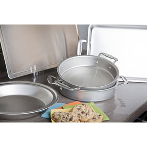 5-Piece Stainless Steel Bakeware Set - 360 Bakeware 360 Cookware