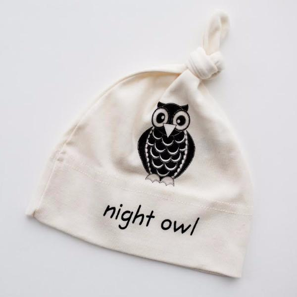 Night Owl Baby Hat