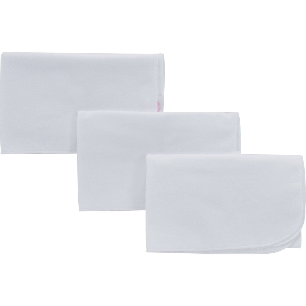 NuAngel Cotton Washable Flat Diapers - 3 per package
