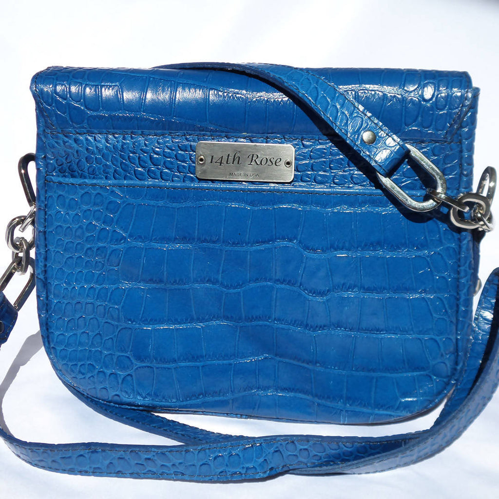 Royal Blue Vanna Bag - Loopty Loop
