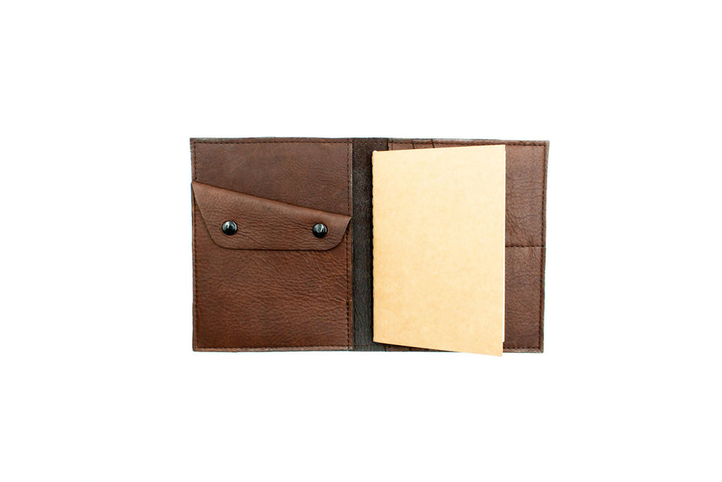 Field Notes Wallet - Bison Leather - Brown
