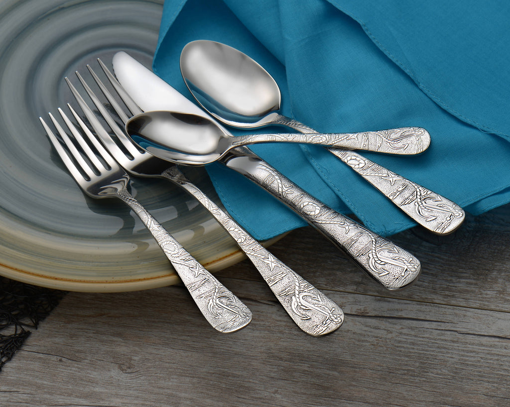 Liberty Tabletop® Flatware Old Harbor 45pc Set