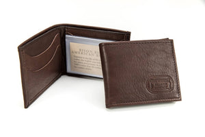 Buffalo Leather Two Fold Wallet