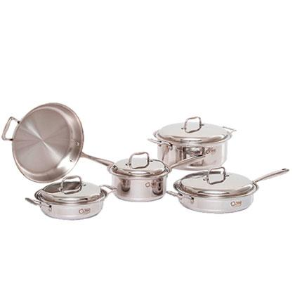 9 Piece Stainless Steel Cookware Set - 360 Cookware 360 Cookware
