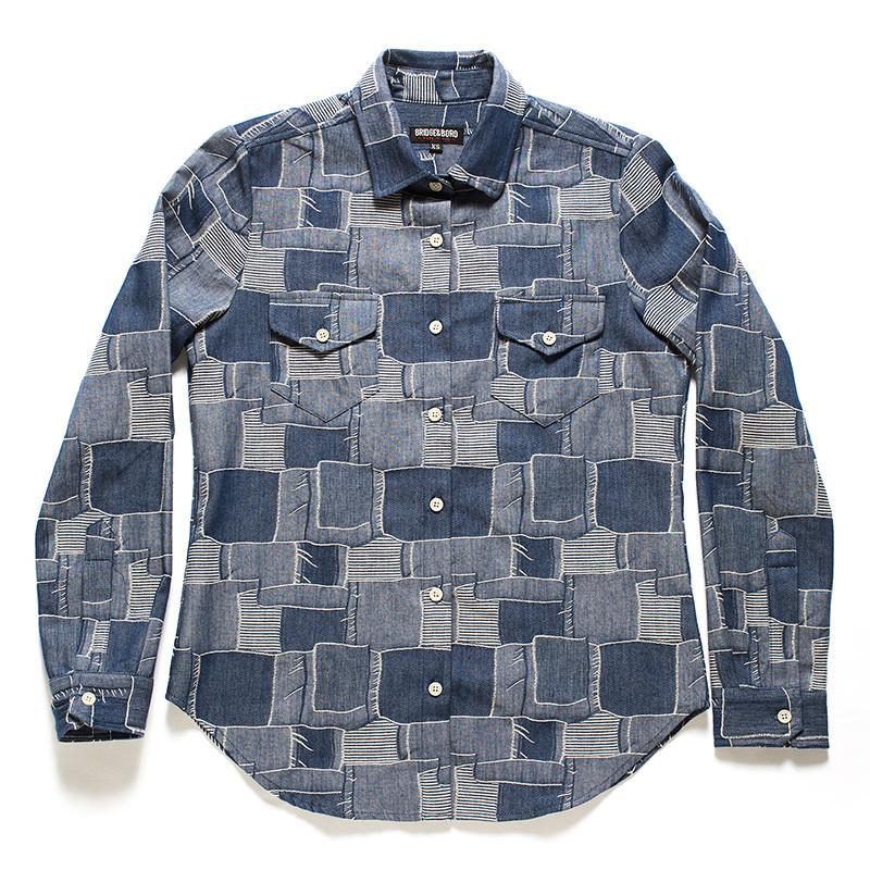 Boro Denim Shirt for Women