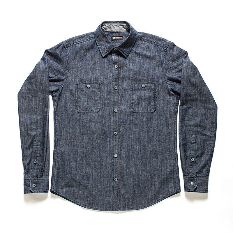 Bowery Denim Shirt Size