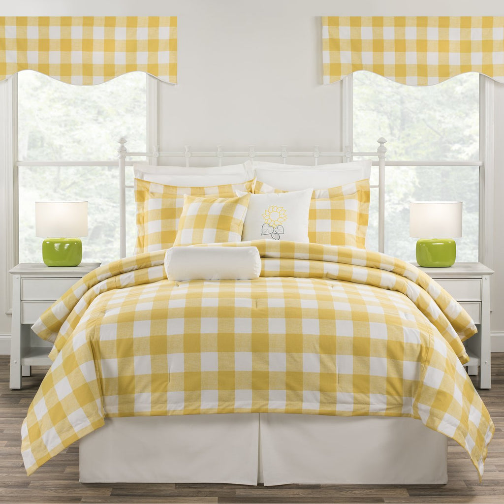 Cottage Classic Yellow Bedding Set