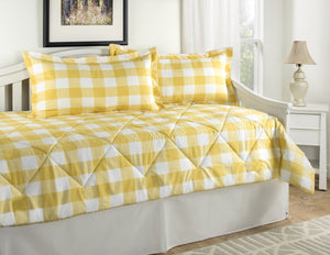 Cottage Classic Yellow Dorm Bedding Set