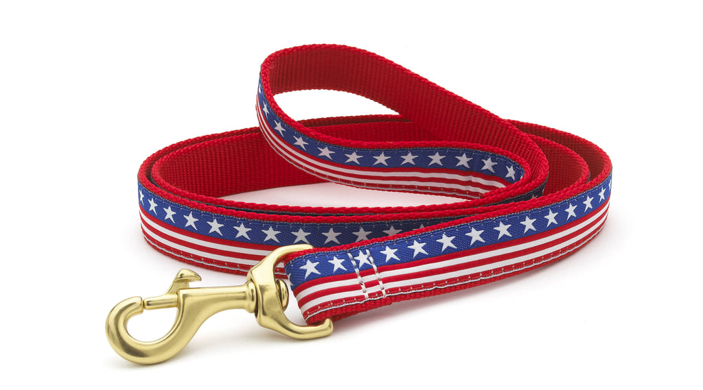 Stars and Stripes Dog Lead
