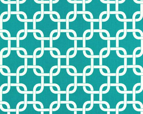 Turquoise Gotcha Fabric by the Yard