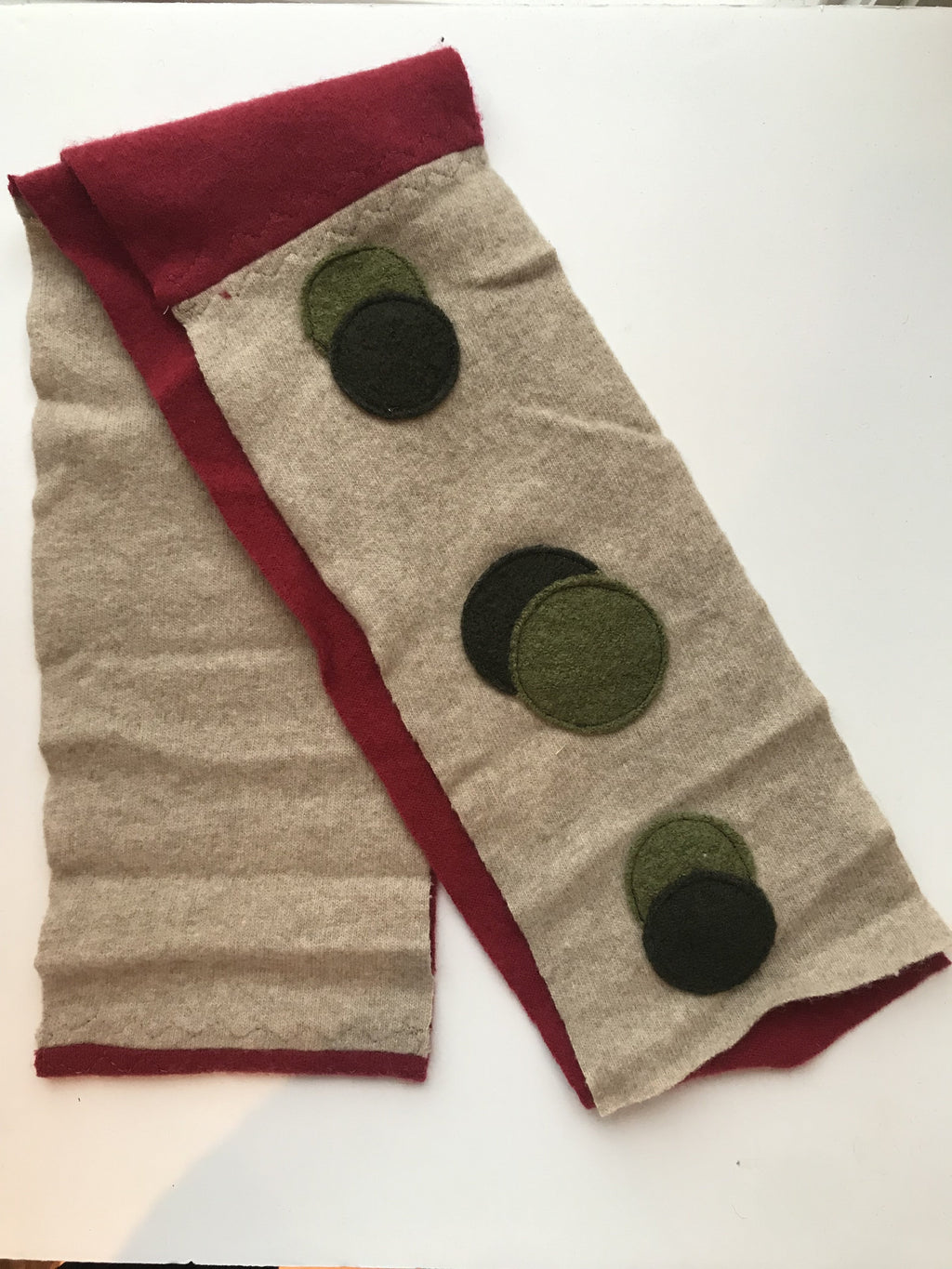 Discontinued Single Sided Cashmere Scarf 002