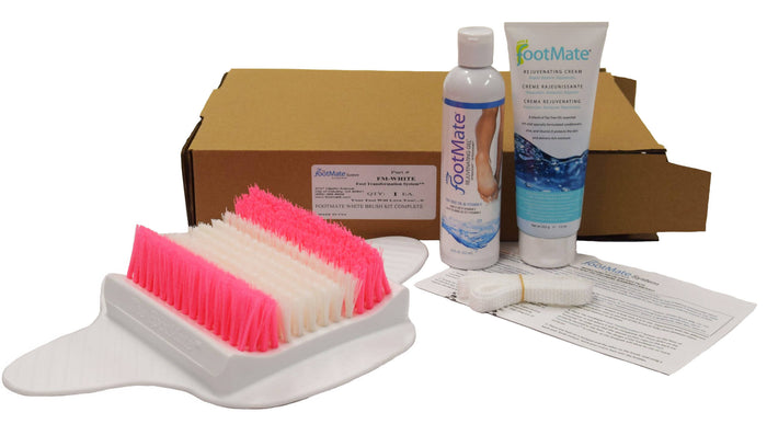 The FootMate® System — White/Pink Bundle