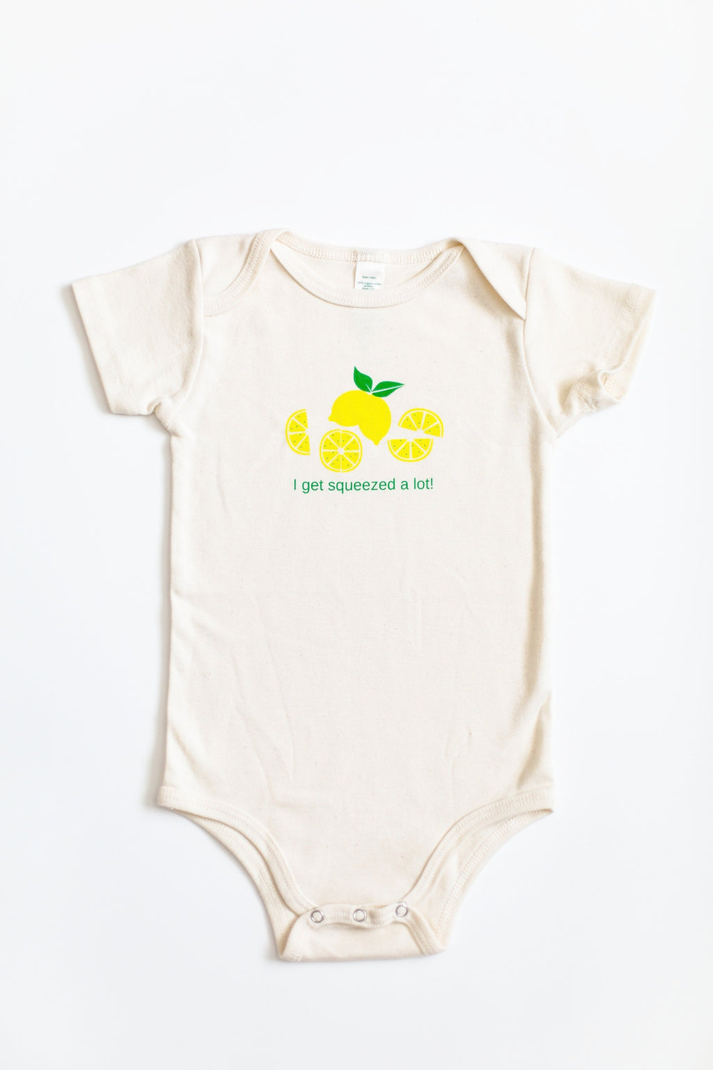 Baby Onesie - I Get Squeezed A Lot