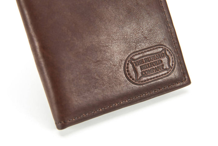 Hipster Wallet - Bison Leather - Brown