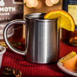 american made original tin coffee whiskey whisky bourbon vodka rum cup mug glass