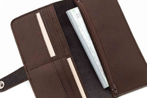 Women's Slim Leather Wallet
