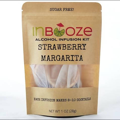 InBooze Sugar-Free Strawberry Margarita
