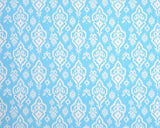 Sky Blue Raji Fabric by the Yard