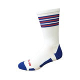 Rookie - White. American Made Unique USA Athletic Socks