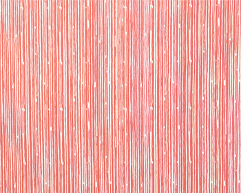 Coral Scribble Fabric by the Yard