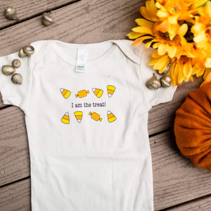 Halloween Baby Romper - I Am The Treat