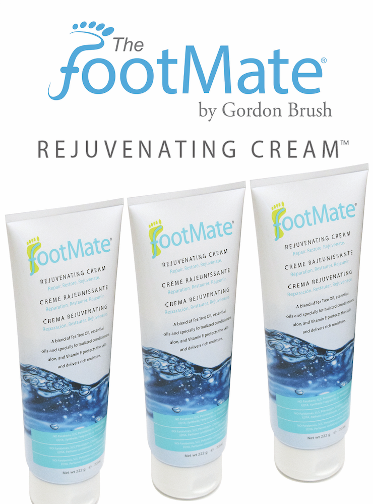 The FootMate® System — Rejuvenating Cream™ 3 Pack