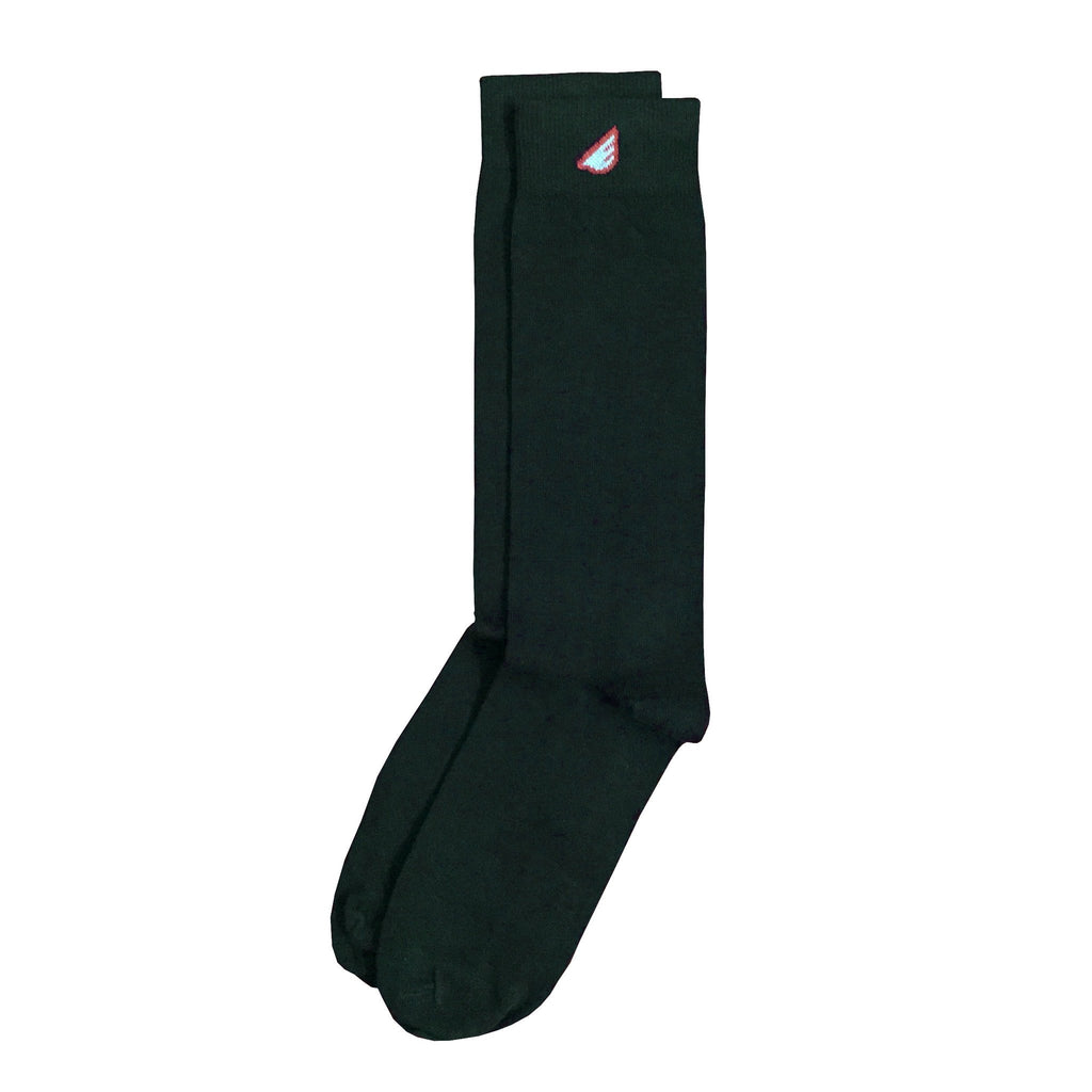 Premium Solids - Brown. American Made Dress Socks