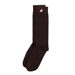 4-Pack Brown - Premium Solids. American Made Dress Sock Bundle