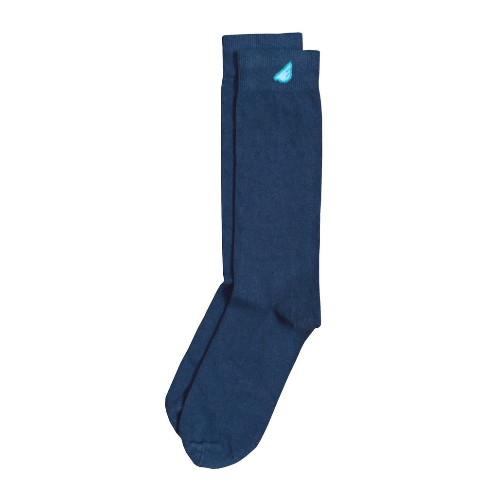 Premium Solids - Dark Grey. American Made Dress Socks