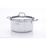 Stainless Steel 8 Quart Stockpot with Cover - 360 Cookware 360 Cookware