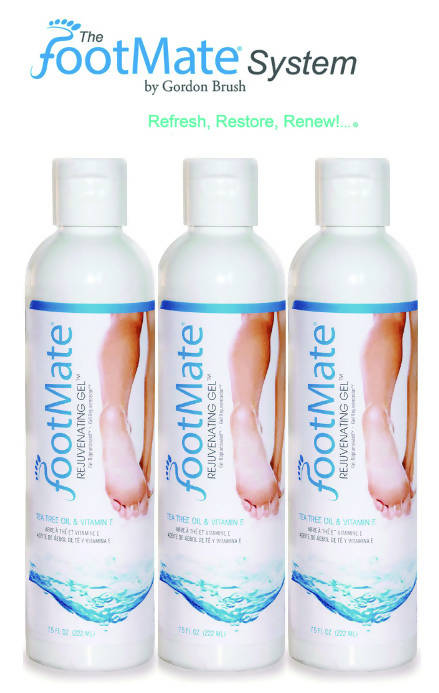 The FootMate® System — Rejuvenating Gel™ 3 Pack