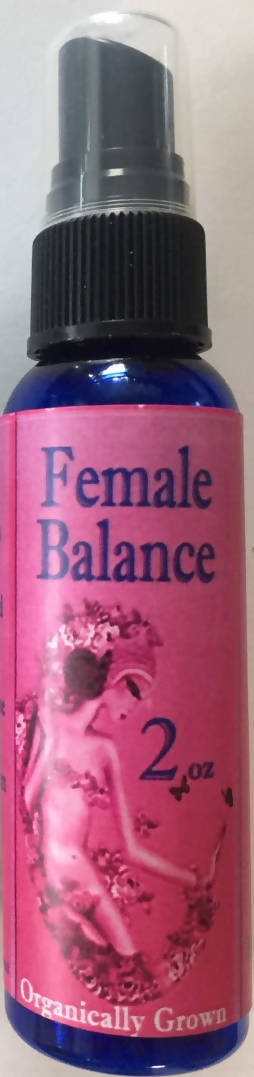Female Balance (Marigold Mint/ Rose scent) 2 oz Spray