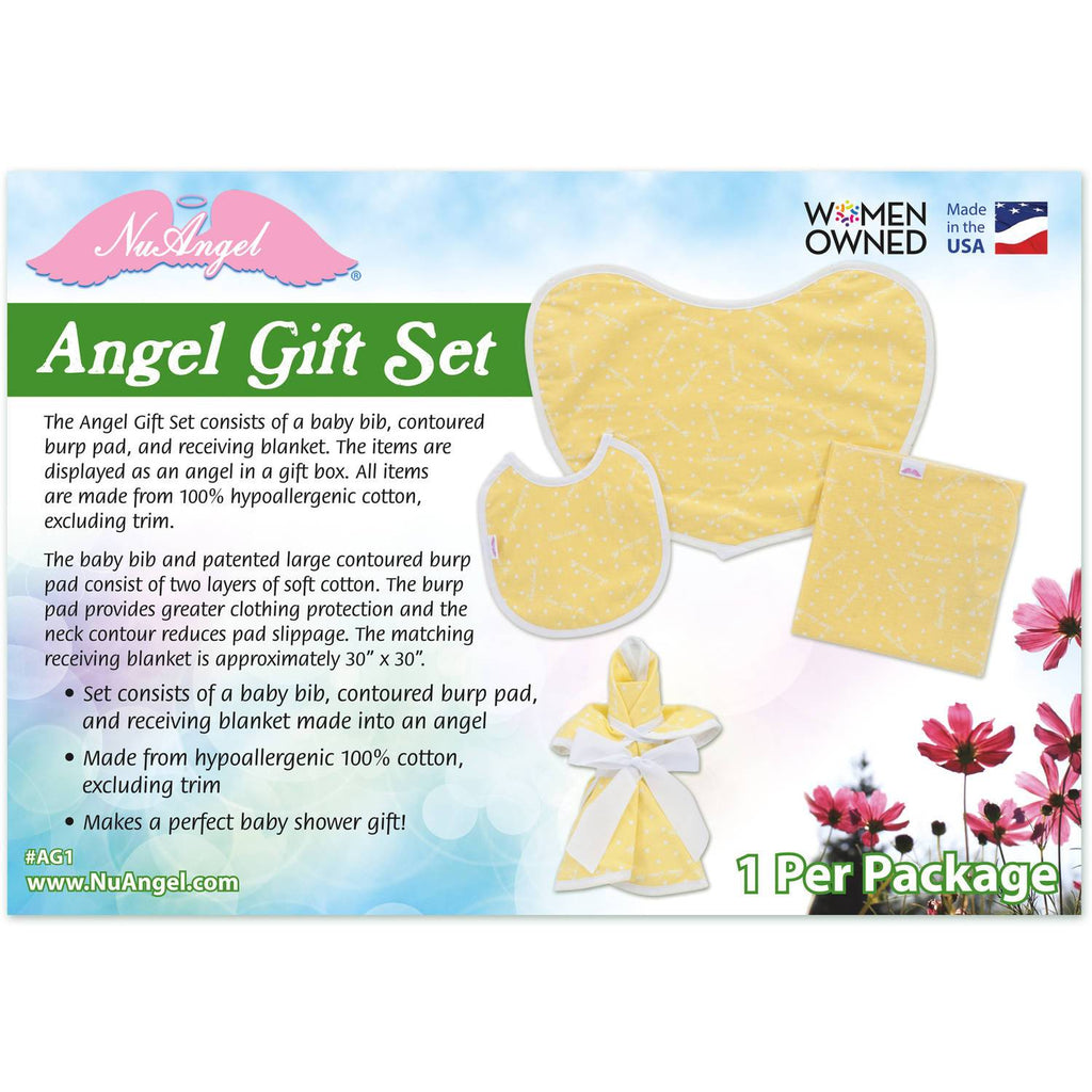 Jesus loves me angel gift set