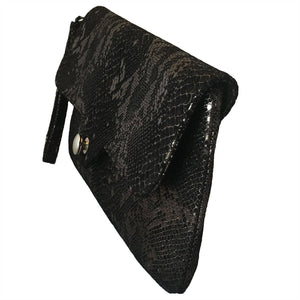Black Snake Crush Clutch