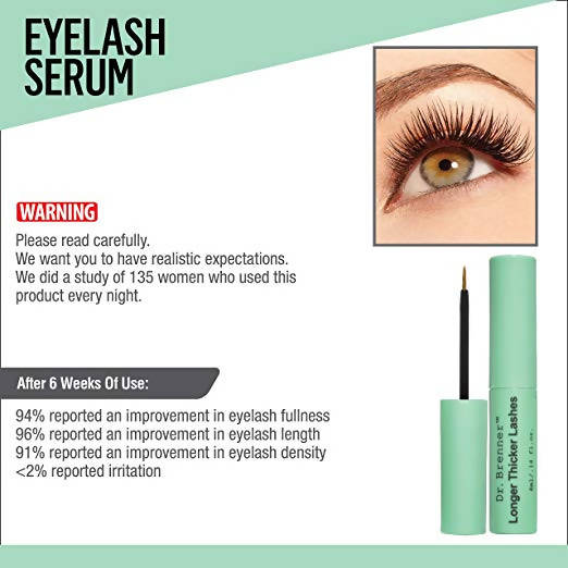 d2ecec8d7bc Dr. Brenner Longer Thicker Lashes Serum to Enhance Eyelashes Made in ...