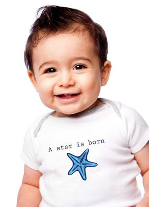 Star Is Born Baby Onesie