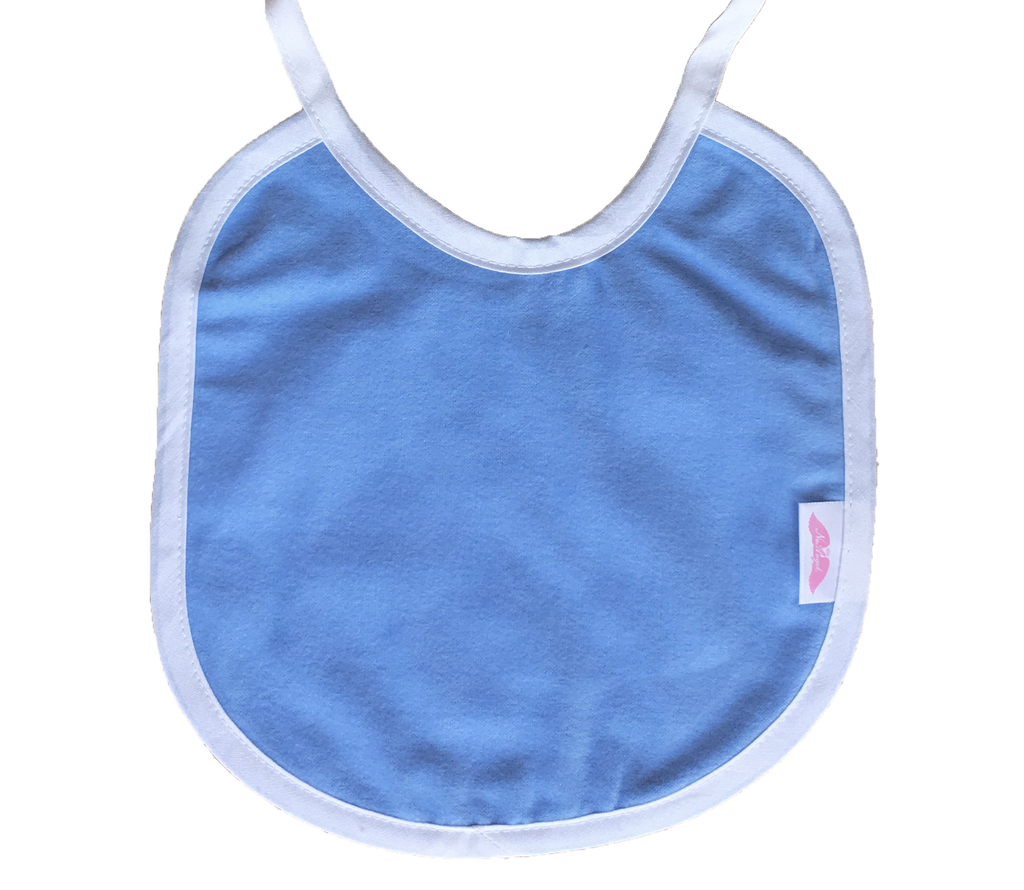 NuAngel Blue Bib - Monogram Available