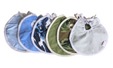 NuAngel Baby Boy Bib - 3 Pack (Colors will Vary)