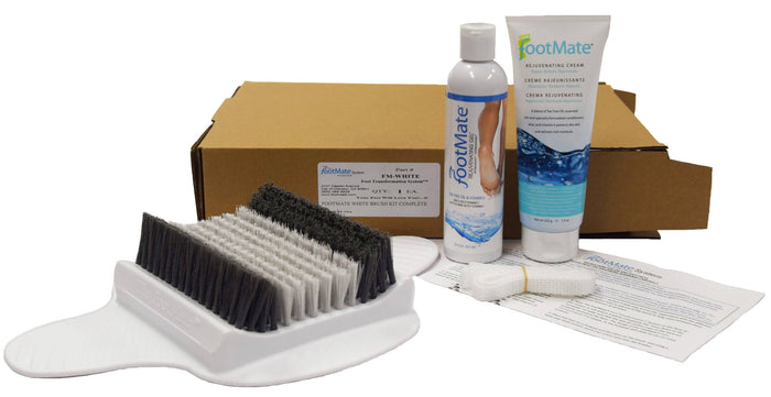 The FootMate® System — White/Gray Bundle