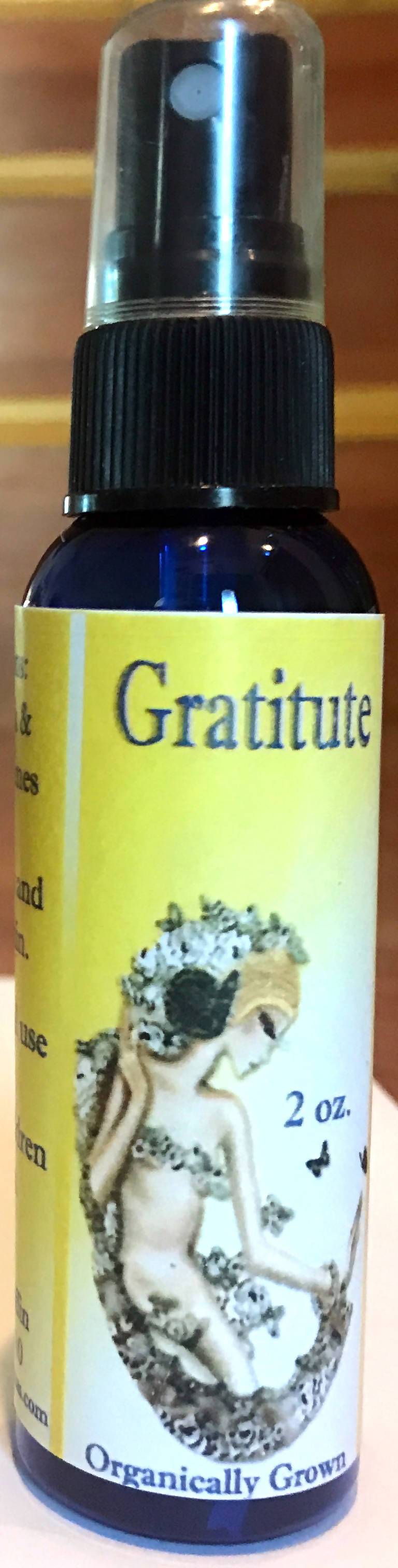 Gratitude (Marigold mint scent) 2 oz Spray
