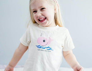 Pink Whale Toddler t-shirt