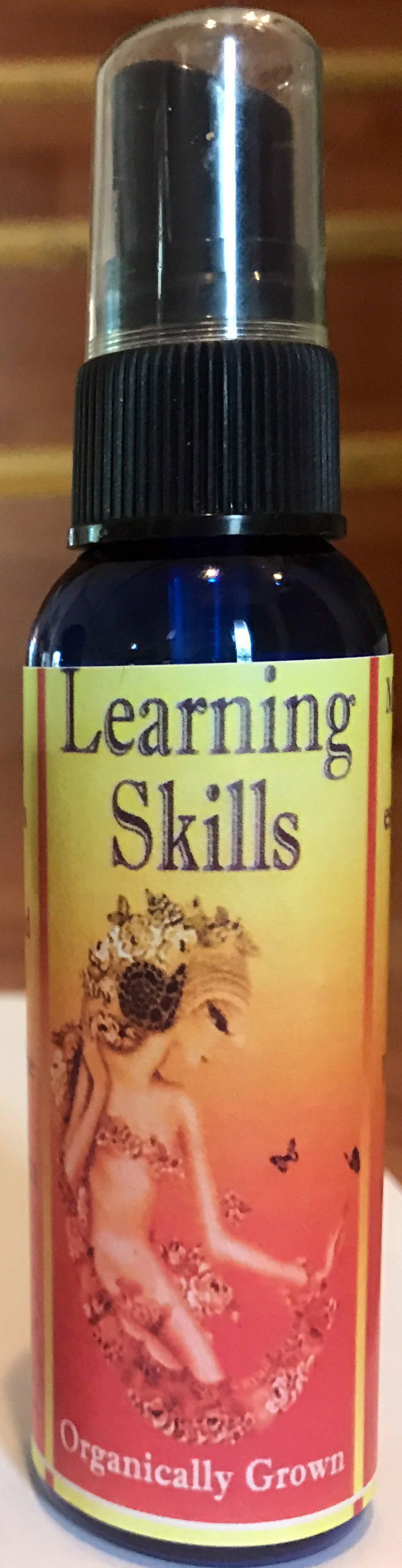 Learning Skills (Lemongrass/Rose scent) 2 oz Spray