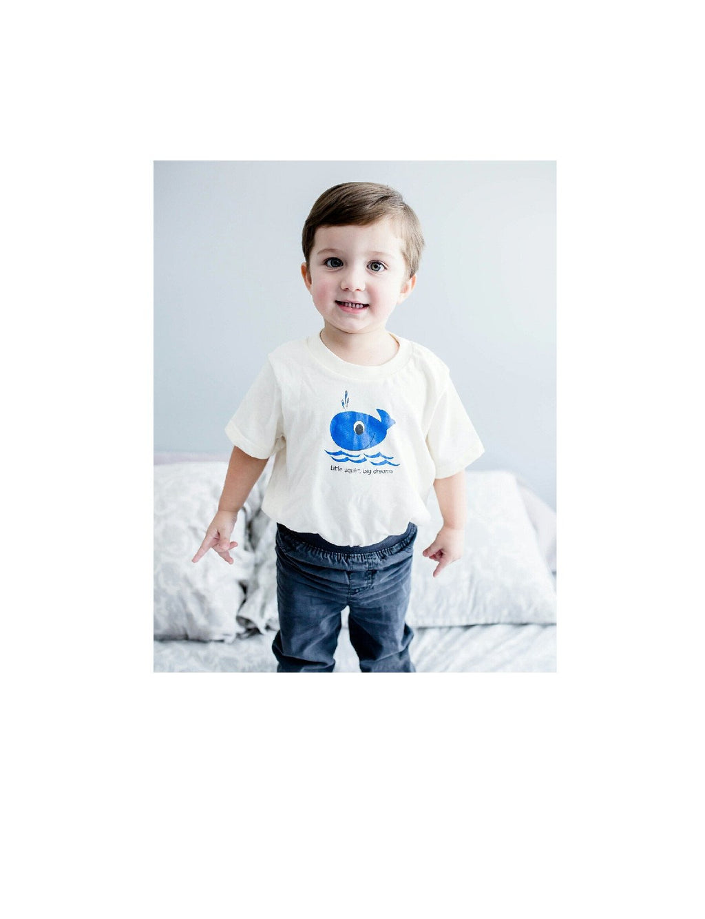 Blue Whale Toddler t-shirt