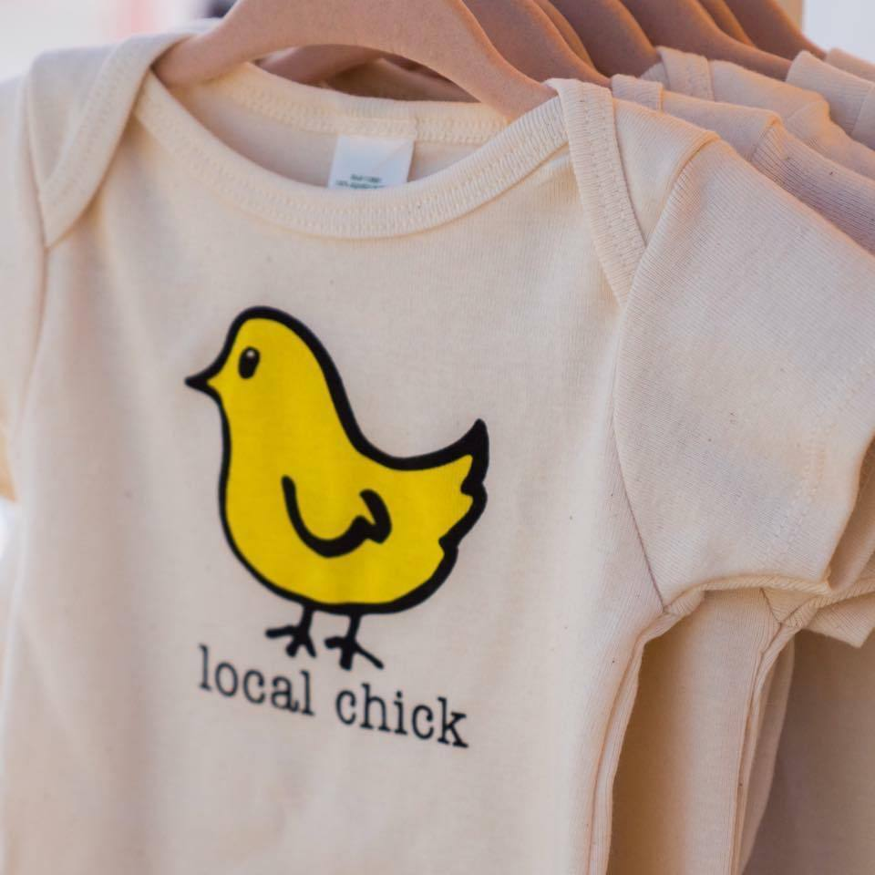 Local Chick Baby Onesie