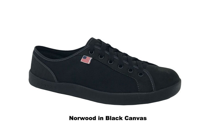 Norwood in Black Canvas
