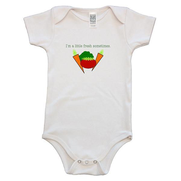 Fresh Sometimes Baby Onesie