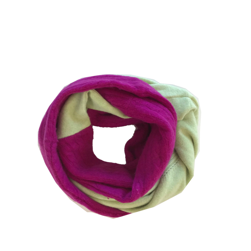 Cashmere Circle Scarf 014
