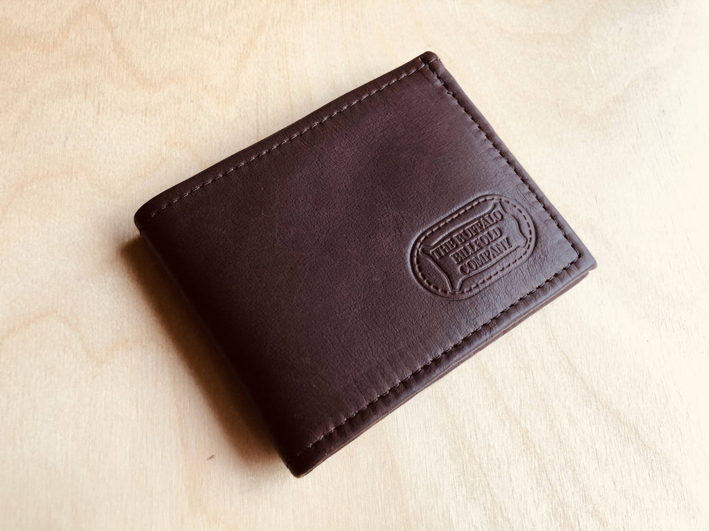 Buffalo Leather RFID Wallet – RFID Blocking Protection