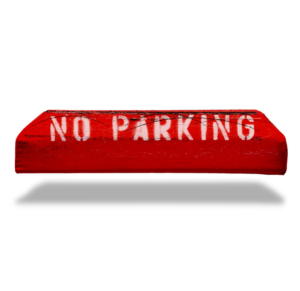 Classic Red Curb Pillow